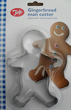 Gingerbread Ginger Bread Man Biscuit Cookie Cutter, Stainless Steel By Tala