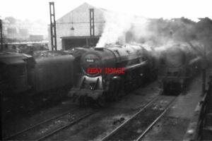 PHOTO  BR CLASS 9F LOCO NO 92165 AT BIRKENHEAD C.1967