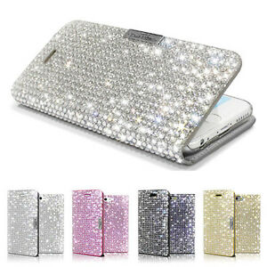 iphone 8 bling wallet case