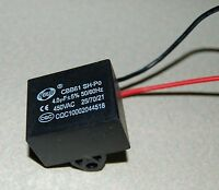 Ceiling Fan Capacitor Cbb61 4uf 2 Wire 450v