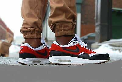 cheap sale where to buy popular brand NIKE AIR MAX 1 Essential Mens Size 9.5 537383-122 White - Black ...