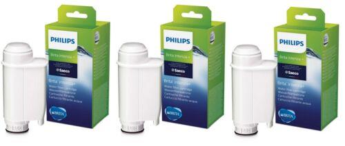 3 PEZZI SAECO Intenza BRITA Plus Philips ca6702//10 Filtro acqua Filtro immediatamente!