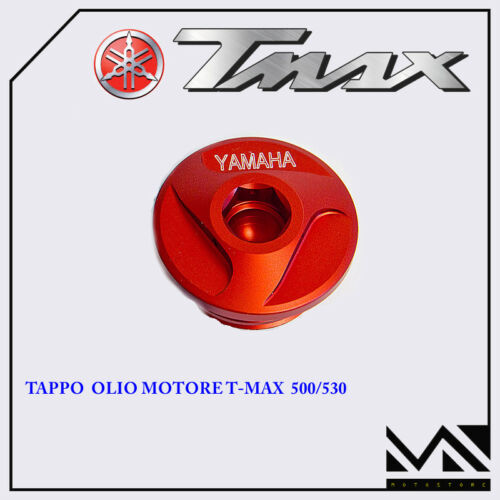 TAPPO RACING OLIO MOTORE ROSSO PERFORMANCE1 TM003 YAMAHA T-MAX 500 2007 2008