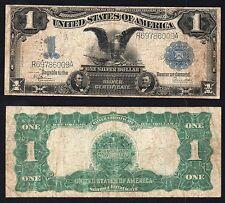 1 Dollar Silver Certificate United States  BLACK EAGLE 1899