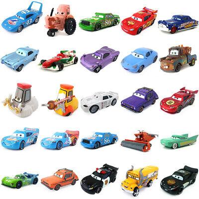 Disney Pixar Cars Lightning McQueen Racers Lot Choose 1:55 Diecast Toy Loose New
