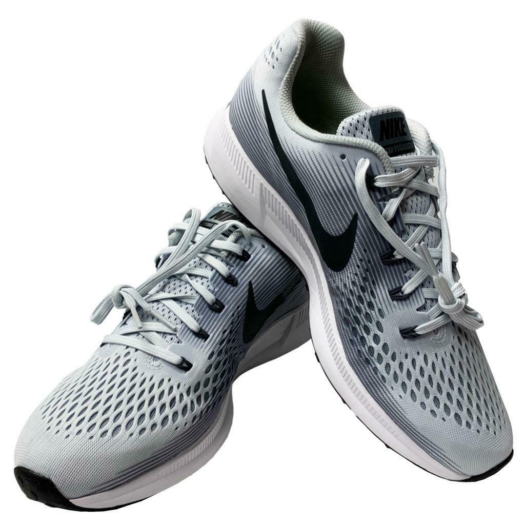 New In Box Nike Air Zoom Pegasus 34 Mens Size 11 Gray Running Shoes