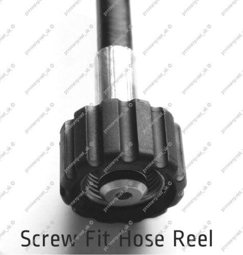 9m Karcher Fit Hose K Series Pressure Washers with Screw on Hose Reel /& C Clip