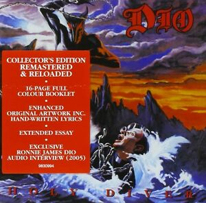 Image is loading DIO-HOLY-DIVER-COLLECTOR-039-S-EDITION-CD-