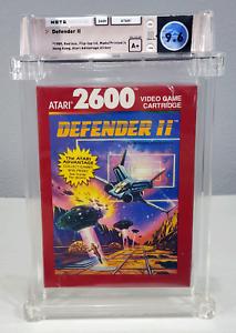 Defender II - Graded Wata 9.6 Sealed A+ Atari 2600 1988 USA