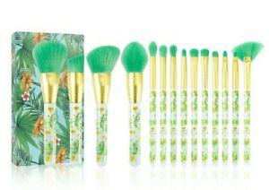 docolor tropical makeup brushes 14pc set high quality