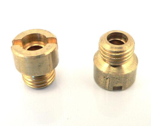 122-65 Holley Carburetor #65 Main Jets Standard Screw In Pair 4150 4160 4500