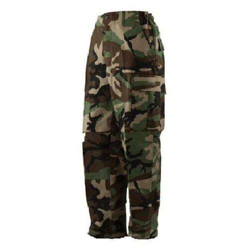Military Issued Woodland Camo Pants-NEW
