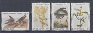 Barbade-638-41-Oiseaux-Oiseaux-MNH