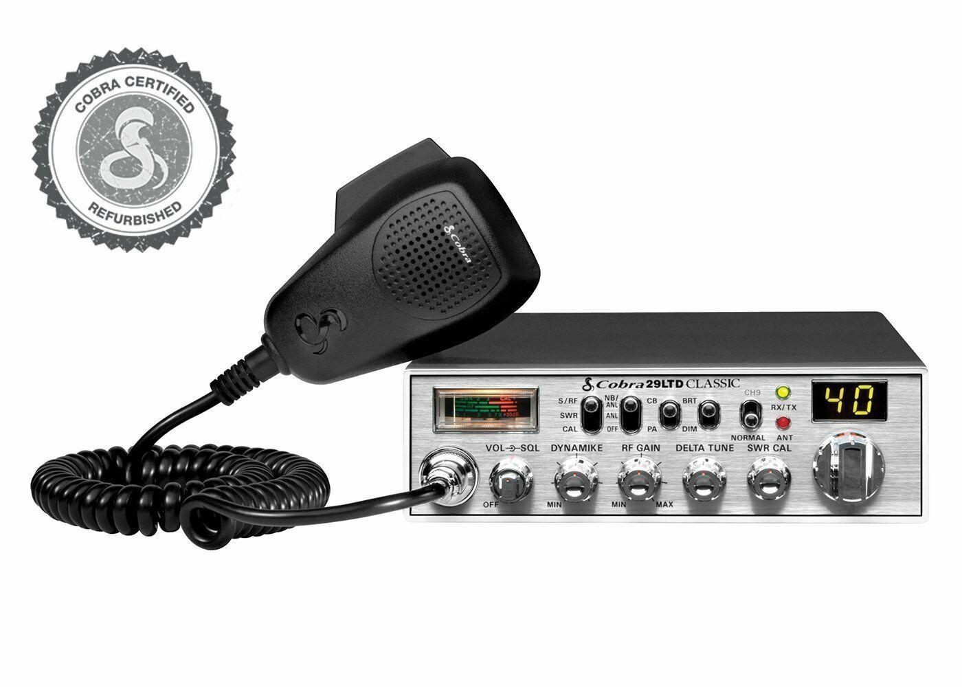 29 LTD FR cobraelectronics Cobra Electronics 29 LTD Certified Refurbished Professional CB Radio
