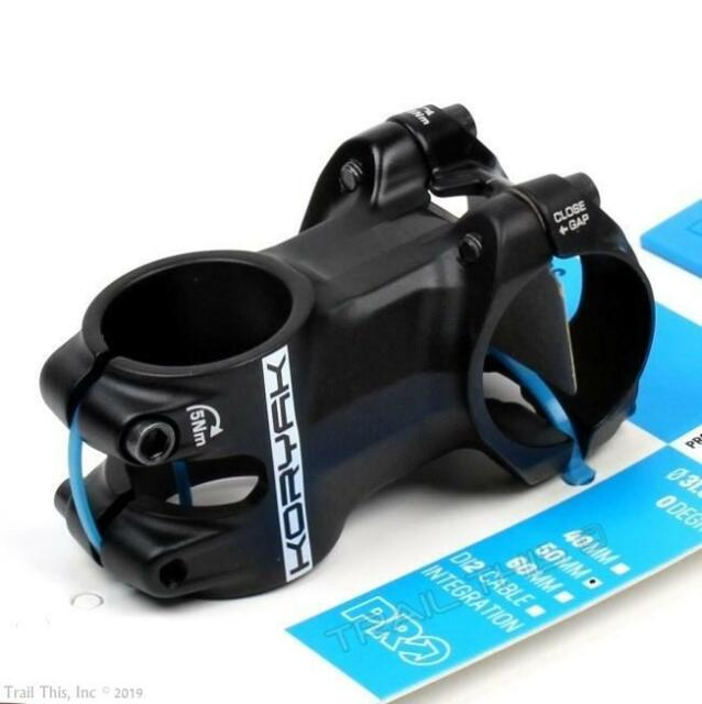 50Mm Prss0376 Bike 0 Deg Shimano Pro Koryak Alloy Stem 31.8Mm