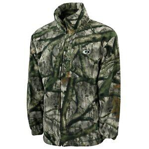 Men-039-s-Walker-039-s-Lake-Camo-Fleece-Hunting-Jacket