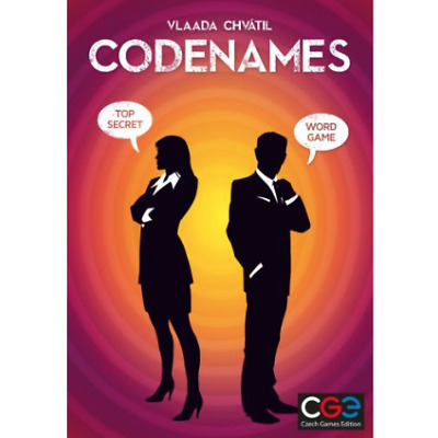 CODENAMES Czech Games Edition WORD GAME TOP SECRET by Vlaada Chvátil