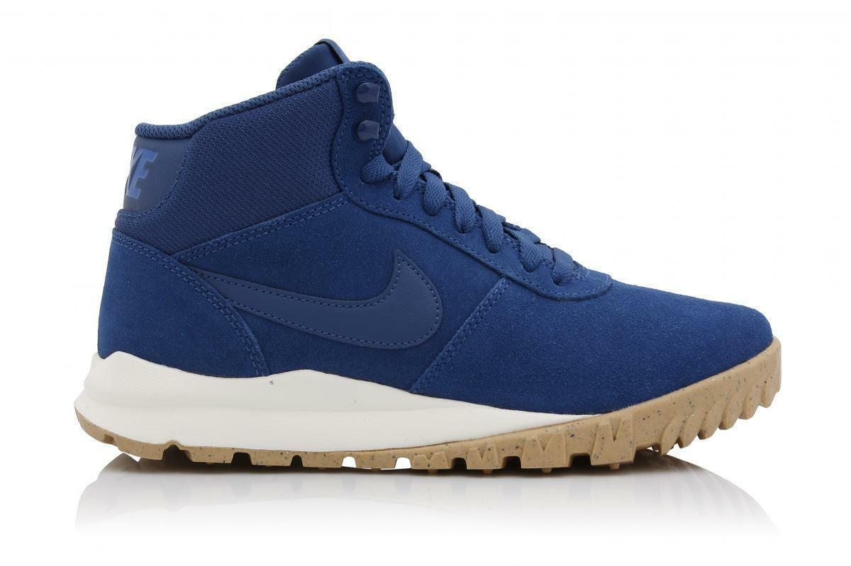Nike Hoodland Gamuza Blue Zapatillas para mujer 807154 447