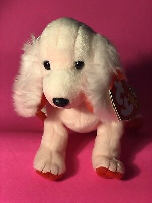 TY SONNET the DOG BEANIE BABY MINT with MINT TAG