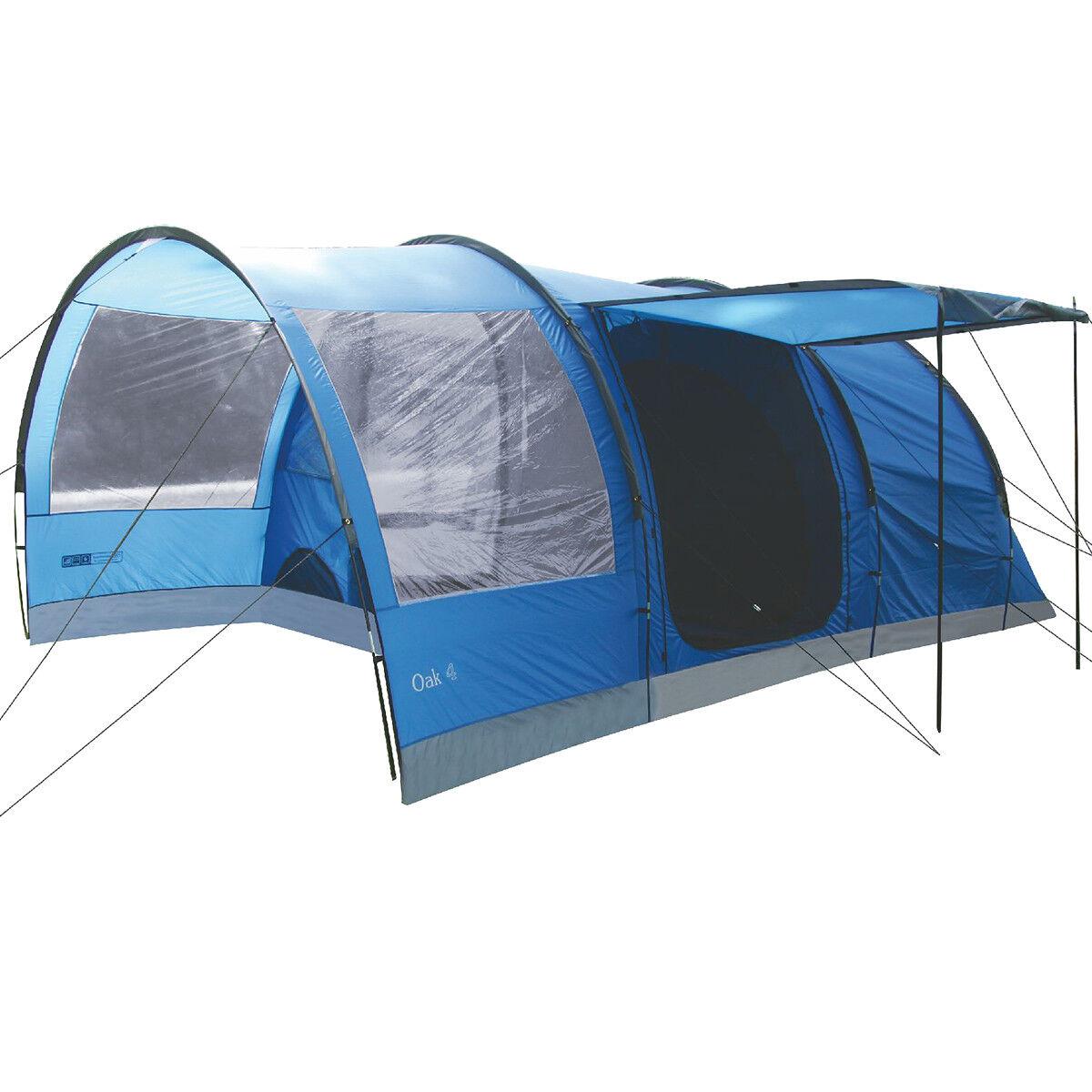 Highlander Oak 4 Persone Grande Famiglia Famiglia Famiglia Tunnel Camping Holiday Tenda Imperial B 47626d