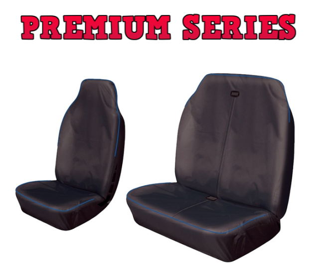 SINGLE LDV MAXUS  RED WATERPROOF FRONT SEAT COVER