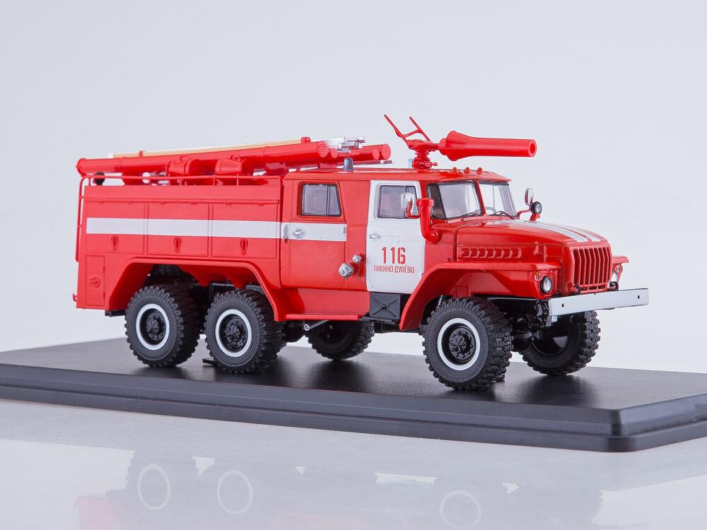alta calidad general Ural Ural Ural 43202 AC-40 PM-102B camión de bomberos Caqui SSM 1234B 1 43  las mejores marcas venden barato