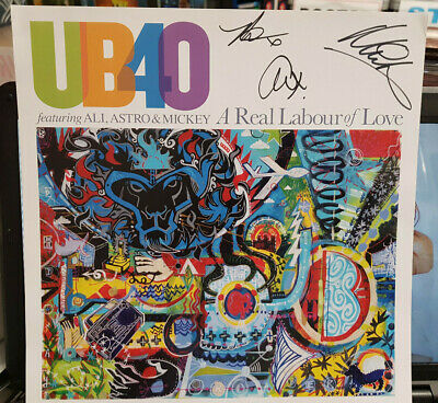 SIGNED//AUTOGRAPHED UB40 ASTRO /& MICKEY UNPLUGGED FRAMED CD PRESENTATION.ALI