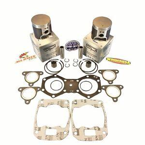 Polaris-550-Spi-Pistons-Winderosa-Haut-Fin-Joint-Kit-1999-2003-020-034-Sur