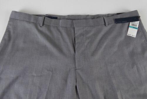 Perry Ellis Big /& Tall Herringbone Dress Pants Flat Front NWT $89.50 Tan or Gray