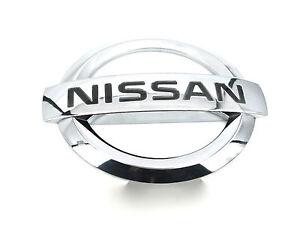 NISSAN-ANTERIORE-emblema-distintivo-Per-Pixo-2009-Hatchback-Visia-N-Tec-1-0