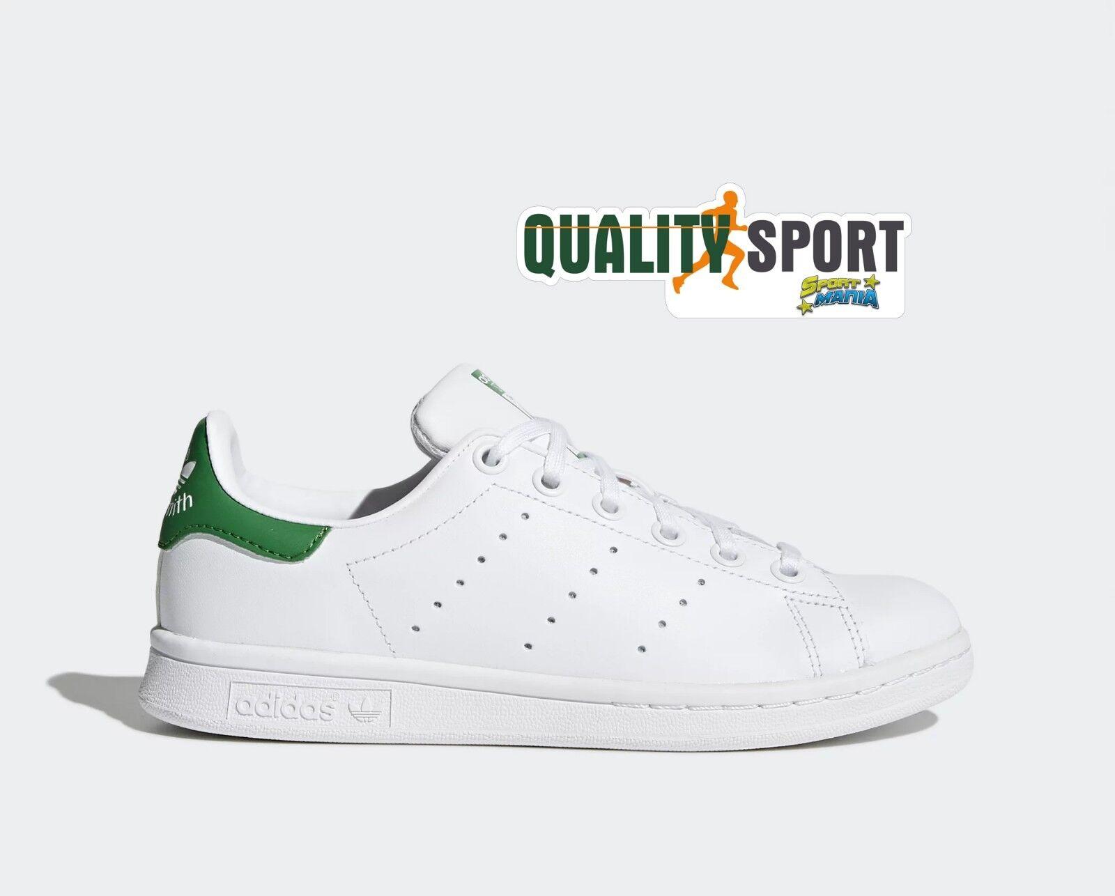 Adidas Stan Smith Bianco verde verde verde zapatos zapatos Sportive zapatillas M20605  tienda en linea