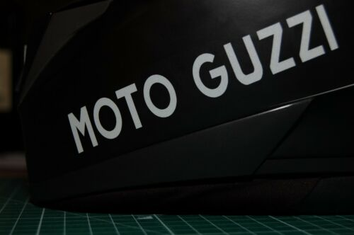 Helmaufkleber Reflex 0015 Moto Guzzi  Motorrad 2 Reflektierende Aufkleber