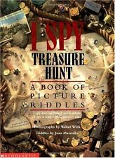 I Spy Treasure Hunt: A Book of Picture Riddles by Jean Marzollo