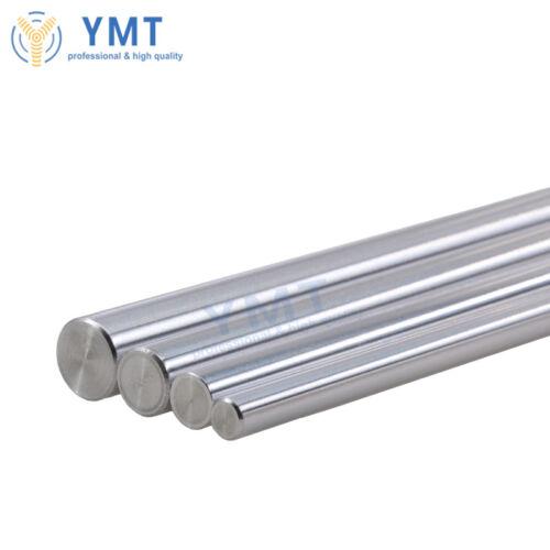 Liner Rail OD 6//8//10//12mm Shaft Hardened Rod Linear CNC Parts For 3D Printe
