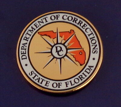 Florida Dept of Corrections OPERATION EDNURING FREEDOM Lapel Pin FL DOC 9//11//01