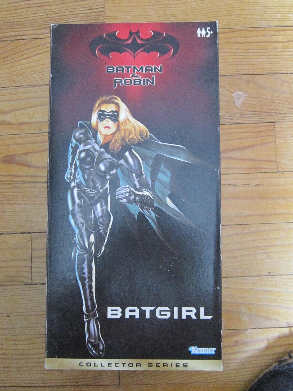 1   12  30cm batgirl kenner 1997 in scatola mib batman & robin.