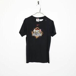 Vintage Nike Team Bob Firman Invitational T shirt Tee Noir | Petit S