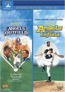 Angels-in-the-Outfield-Angels-in-the-Infield-New-DVD