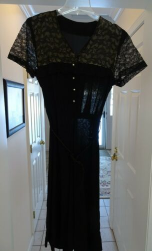 30's/40's Vintage Day Dress