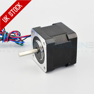 0.9deg Nema 17 Stepper Motor Bipolar 0.9A 36Ncm/50oz.in 42x42x39mm 4-wires DIY 705701802846