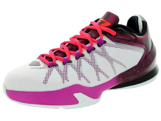 wholesale dealer 142b2 f1e8b NEW NIKE AIR JORDAN CP3 VIII SE 7Y WHITE RED PURPLE Basketball Shoes Sneaker