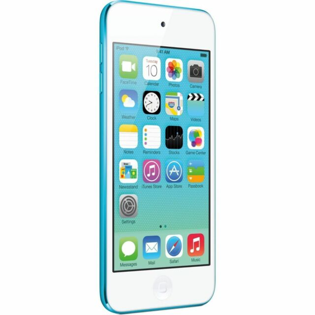 Refurbished A1421 Apple iPod Touch 5th Generation Blue 16GB 90 Days Warranty