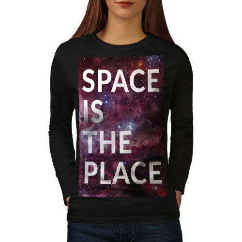 Space is The Place Women Long Sleeve T-shirt NEWWellcoda