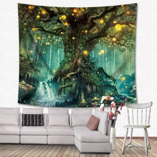 Moon String Print Tapestry Art Room Wall Hanging Tapestry Home Bedspread Decor