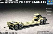 Trumpeter Pz.Kpfw.Sd.Ah.116 Trailer German Tanktransporter Anhänger 1:72 Modell