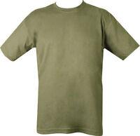 MENS MILITARY T SHIRT  XS - XXXL ARMY COMBAT 100% COTTON CAMOUFLAGE BRITISH USA