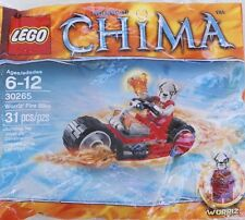 NEW LEGO CHIMA Worriz' Fire Bike Set 30265  Sealed Polybag
