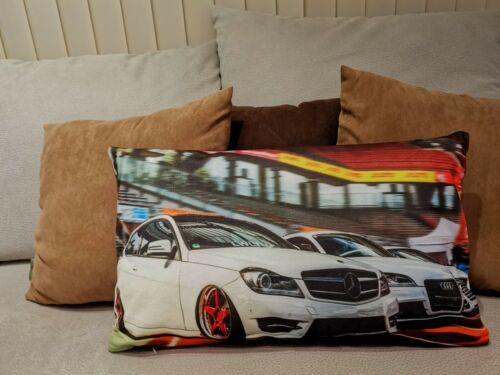 Coussin avec MERCEDES BENZ AMG Motif-Tuning Cushion Pillow Sofa deco voiture #221
