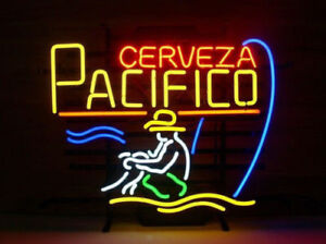 """New Cerveza Pacifico Beer Bar Neon Light Sign 17/""""x14/"""""""