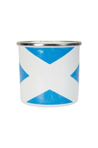 Mountain Warehouse émail Tasse-Ecosse Rustique Imprimé 400 ml en bleu